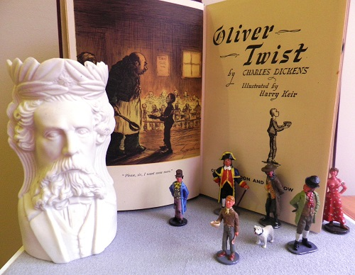 Toy Soldier Collector Oliver Twist October 2014