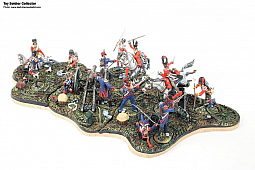 Toy Soldier Collector GNM Miniatures  - Napoleonic Diorama