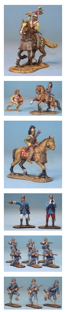Toy Soldier Collector The East of India Co. Various Figures