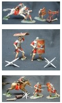 Toy Soldier Collector Forces of Valor Romans