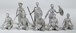 Toy Soldier Collector Irregular Miniatures - Zulus
