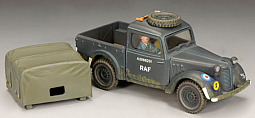 Toy Soldier Collector King & Country - Austin Light Utility (RAF version)
